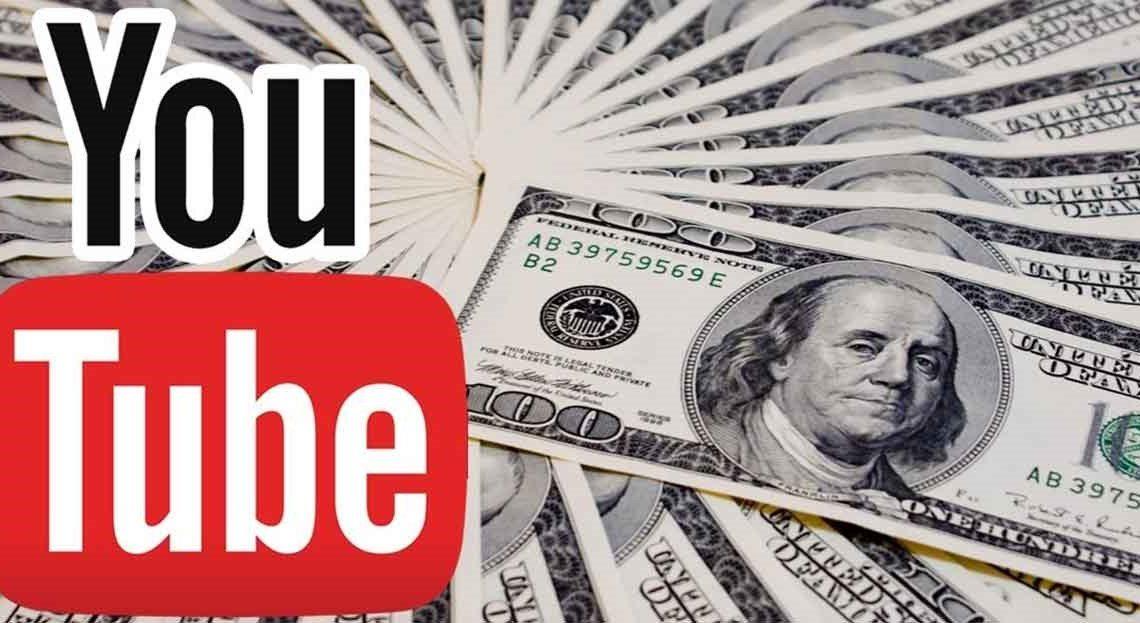 Падение дохода на YouTube в январе.